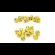 Stresszlabda - Emoji Smiley vicces fejek - 6,3 cm