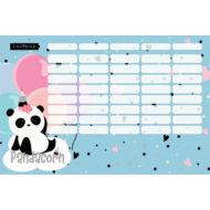 Panda-unikornisos nagy órarend - Lollipop Pandacorn
