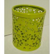 Asztali írószertartó - Mesh fémhálós ceruzatartó - zöld