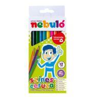 Nebuló háromszögletű színes ceruza készlet - 12 db/csomag