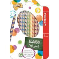 Stabilo EasyColour színes ceruza készlet - 12 szín - balkezes