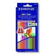 Staedtler háromszögletű színes ceruza készlet - 12 db/csomag - Noris Club