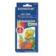 Staedtler hatszögletű színes ceruza készlet - 12 db/csomag - Noris Club