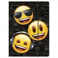 Gumis mappa - Emoji Smiley - A4