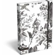 Cornell BNW füzetbox - A4 - Virág