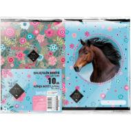 Lovas füzetborító A5 - 10 db/csomag - Wild Beauty Blue