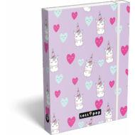 Lollipop Unicorn füzetbox - A5 - Unikornis