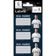 Real Madrid etikett füzetcímke 9 db-os