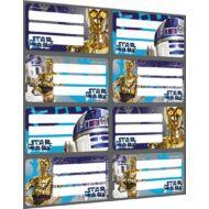 Füzetcímke - Star Wars Droids - 8 etikett / ív