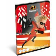 A hihetetlen család leckefüzet - A5 - The Incredibles 2
