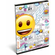 Emoji leckefüzet - A5 - Xoxo