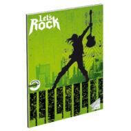"""Hangjegyfüzet A4 - """"86-32"""" - Let's Rock gitáros"""