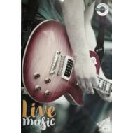 """Hangjegyfüzet A4 - """"86-32"""" - Live Music - gitáros"""