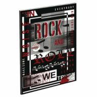"""Hangjegyfüzet A4 - """"86-32"""" - Rock and Roll"""