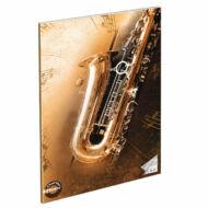 """Hangjegyfüzet A4 - """"86-32"""" - Saxophone"""