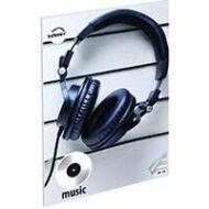 Fejhallgatós hangjegyfüzet - A5 36-16
