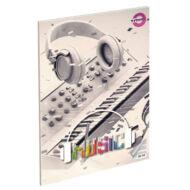 Fülhallgatós hangjegyfüzet - A5 36-16 - Music