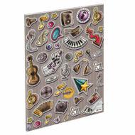 Hangszerek hangjegyfüzet - A5 36-16