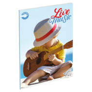 Live Music hangjegyfüzet - A5 36-16 - Gitározó kisfiú