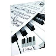 Piano hangjegyfüzet - A5 36-16