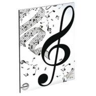 Violinkulcsos hangjegyfüzet - A5 36-16