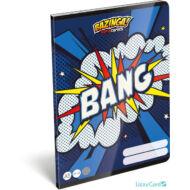 Bazinga kockás A5 füzet 27-32 - Supercomics