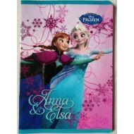 Jégvarázs kockás füzet - A5 - Anna és Elsa