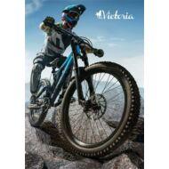 Victoria Rider kockás füzet - A5 96 lapos tűzött - motoros