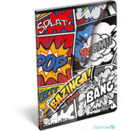 Bazinga leckefüzet - A5 - Supercomics