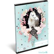 Lovas sima füzet - A5 - 20-32 - Wild beauty rose