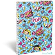 POP kockás spirálfüzet - A4 - Lollipop Pop