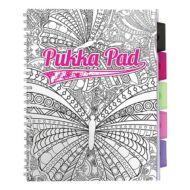Regiszteres vonalas spirálfüzet - A4 - PUKKA Pad Colour Project Book - 100 lapos színezhető
