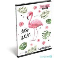 Flamingós szótár füzet - A5 - 31-32 - Lollipop Funmingo