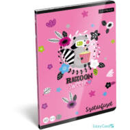 Mosómacis szótár füzet - A5 - 31-32 - Lollipop Raccoon