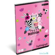 Mosómacis szótár A5 füzet - Lollipop Raccoon