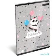 Panda-unikornisos szótár A5 füzet - Lollipop Pandacorn