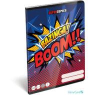 Bazinga vonalas A5 füzet 1. osztály - Supercomics