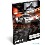Sportkocsis vonalas A5 füzet 2. osztály - Ford GT Silver