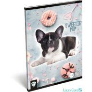 Kutyás vonalas A5 füzet 21-32 - Kis Bagoly Sweetie Pup