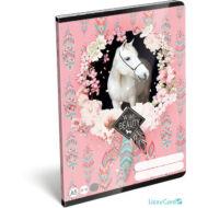 Lovas vonalas A5 füzet 21-32 - Wild Beauty Rose