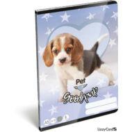 Good Pup kutyás vonalas füzet 2. osztály