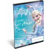 Jégvarázs vonalas füzet - A5 - 3. osztályos / 12-32 - Frozen Magic