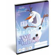 Jégvarázs vonalas füzet - A5 - 3. osztályos / 12-32 - Frozen Seasons