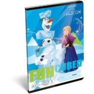 Jégvarázs vonalas füzet - A5 - 2. osztályos / 16-32 - Frozen Fun