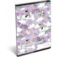 Minnie Mouse Unicorn vonalas füzet - A5 - 4. osztálytól / 21-32