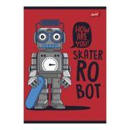 Robotos-kosárlabdás vonalas füzet - A5 - 1. osztályos