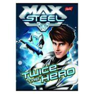 """Max Steel """"12-32"""" vonalas füzet - A5 - 3. osztály"""