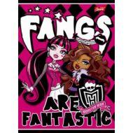 Monster High vonalas füzet - A5 - 2. osztályos - Korlátozott mennyiség!