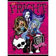 Monster High vonalas füzet - A5 - 3. osztályos - Korlátozott mennyiség!