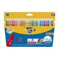 Filctoll készlet - BIC Kids - 24 szín